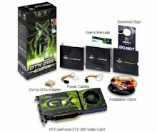 XFXFORCE GTX 285 DDR3 1GB 512 BIT