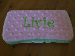 Pink Diaper Wipe Case $17