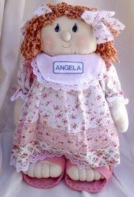 Boneca de pano Angela