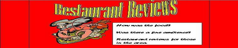 Restaurant Reviews by Pat Fish