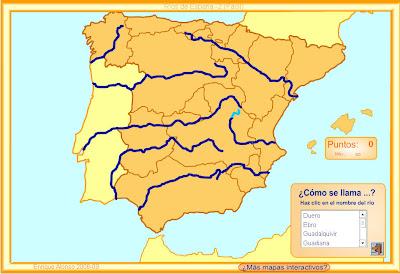 Mapas flash interactivos Mapas