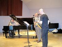 Thelema Trio rehearsing