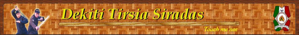 Dekiti Tirsia Siradas Filipinas