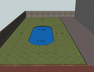 Swimming pool to pond calculating swimming pool volume in - Volume of a swimming pool formula ...