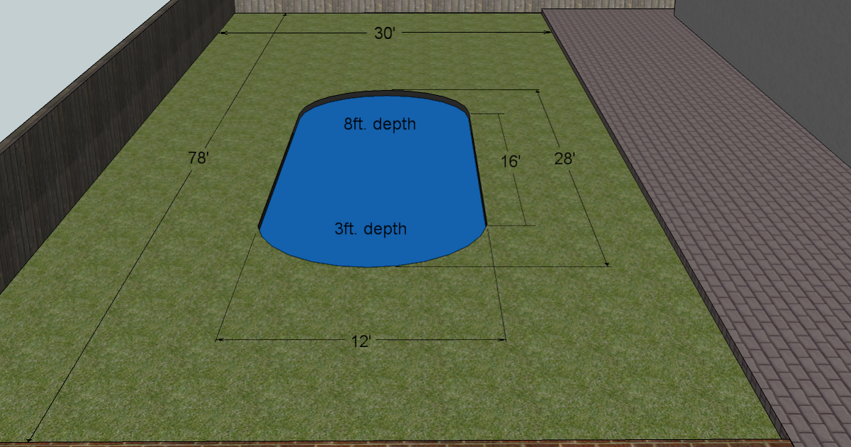 Swimming Pool To Natural Pond Calculating Swimming Pool Volume In Cubic Feet