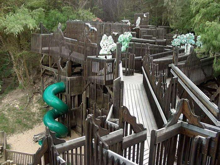 Little Kids On Playground Weird