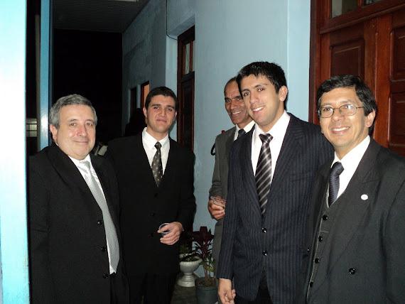 Juan Cabara, Mauricio Castillo, Ruben De Los Santos, Gerardo Lima y Ruben Rodriguez