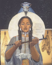 TwinDeerMother WhiteBuffaloCalfWoman