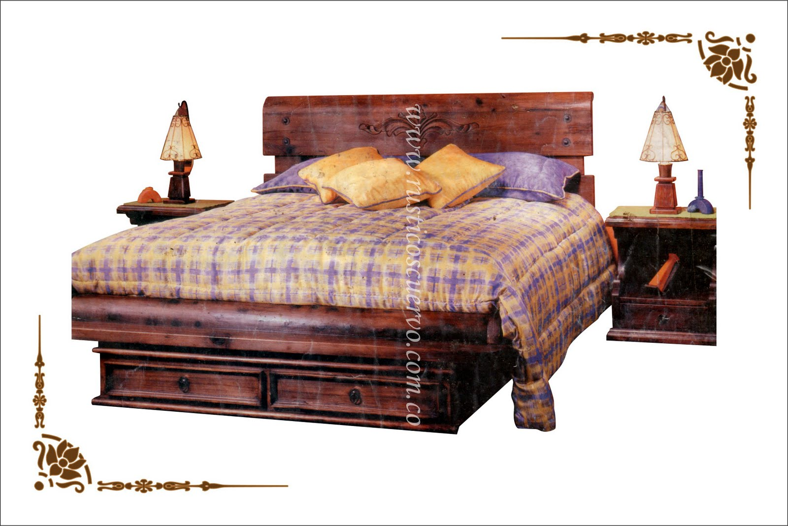 Muebles R Sticos Cuervo # Muebles Madera Bogota
