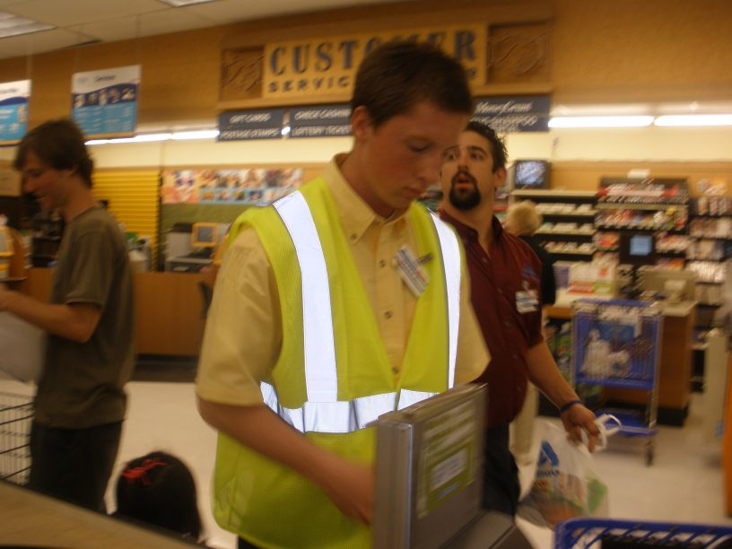 Elegant Mattu0027s 1st Job   Albertsons   Courtesy Clerk On Courtesy Clerk