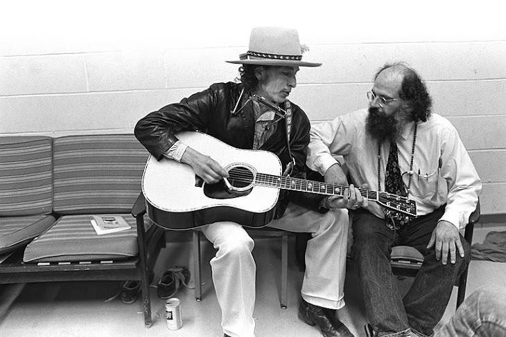 <b>Bob Dylan - Allen Ginsberg</b>