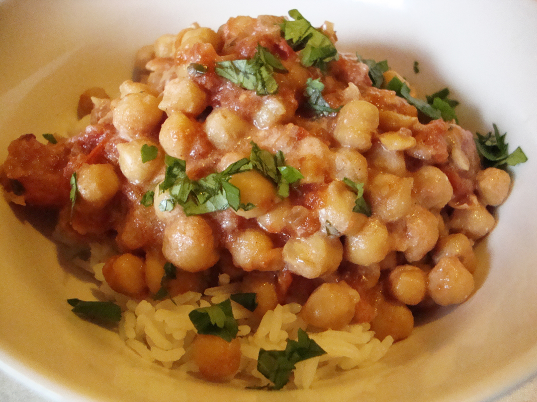 Chana Masala Recipe — Dishmaps