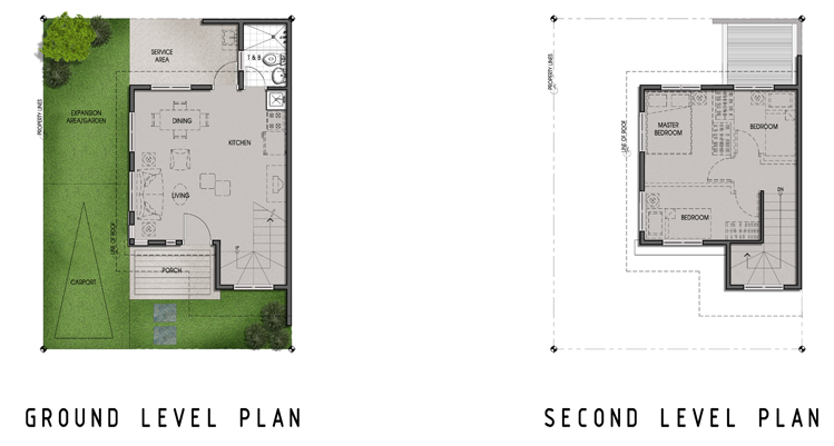 Single Home Unit Floor Plan