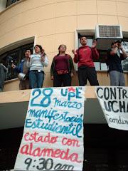28 Marzo Movilización Estudiantil