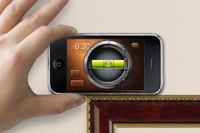 Niveau a bulle iPhone - cadre