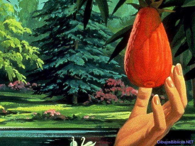 Funincol tema el paraiso d nde est for Adan y eva en el jardin de eden