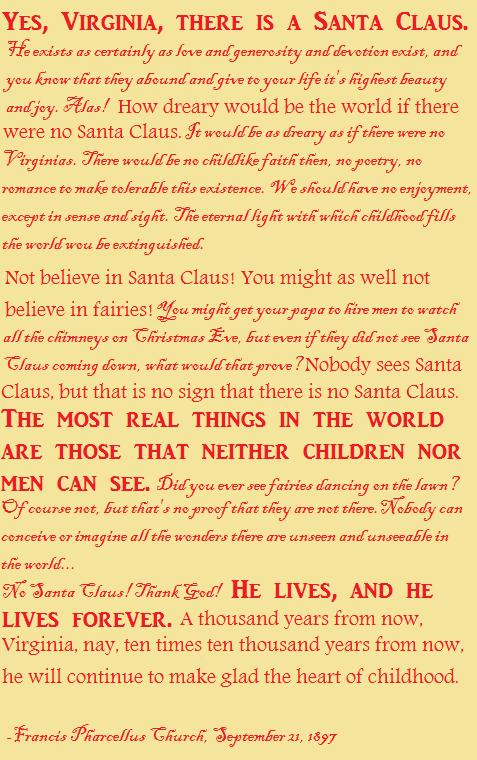 Christmas Quotes Yes Virginia