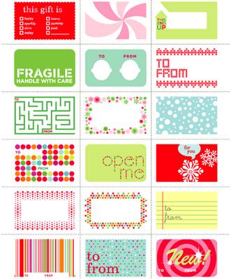 nyomtatható ajándékcímke