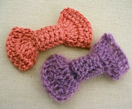 free PDF crochet pattern pin up girl bow