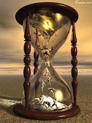 Tempo! Nossas vidas são um grão de areia no oceâno...