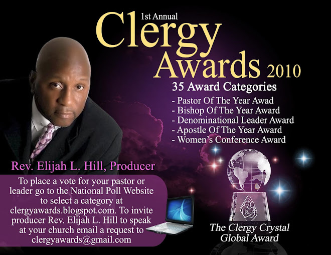 The Clergy Crystal Global Award