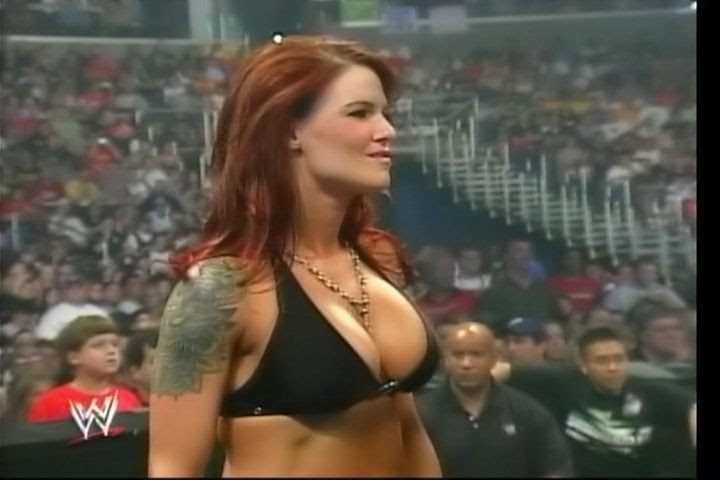 lita wwe showing her tits