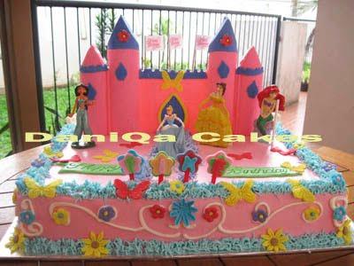 kue ulang tahun princess siapa yang tidak kenal kue ulang tahun ...