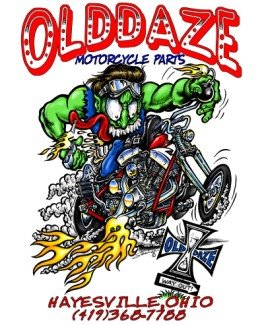 Olddaze Motorcycle Parts