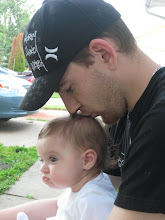 Daddy and Me outside