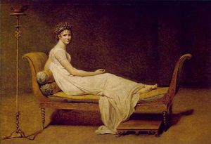 Chateaubriand, Madame Récamier and the Salon 300px-Madame_R%C3%A9camier_painted_by_Jacques-Louis_David_in_1800
