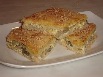 Greek Artichoke Pie Recipe