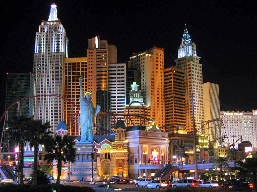 Jefferson world trip welcome to las vegas for Hotel new york