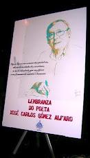 LEMBRANZA DO POETA XOSÉ CARLOS GÓMEZ ALFARO