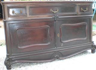 Quiero pintar un mueble pero est barnizado pinturadecor - Como decapar un mueble oscuro ...