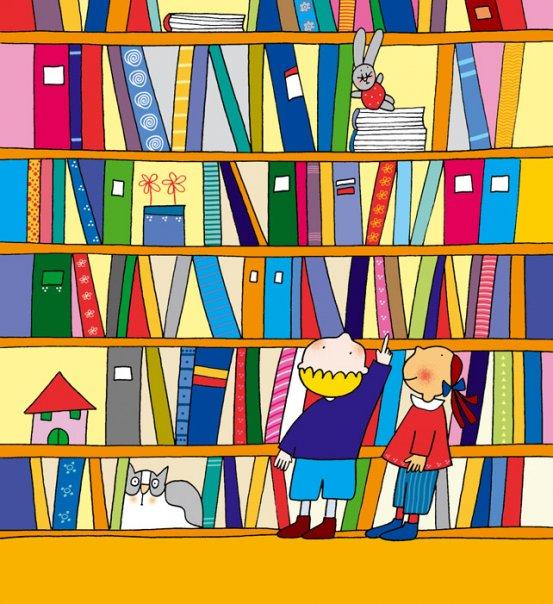 Biliotecas infantiles una bilioteca para ti noviembre - Toddler libro da colorare ...