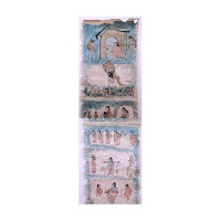 santal parganas scroll painting bihar west bengal