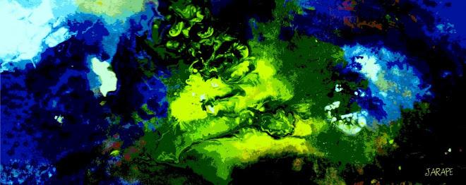286 Galaxia bajo el mar