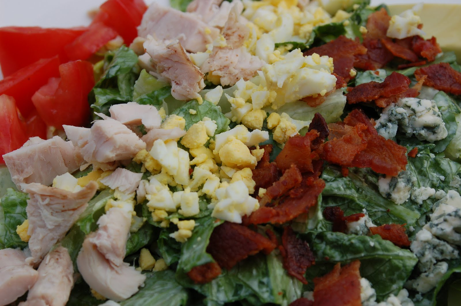 ... Marvelous Meal: Smoked Turkey Cobb Salad with Green Goddess Dressing