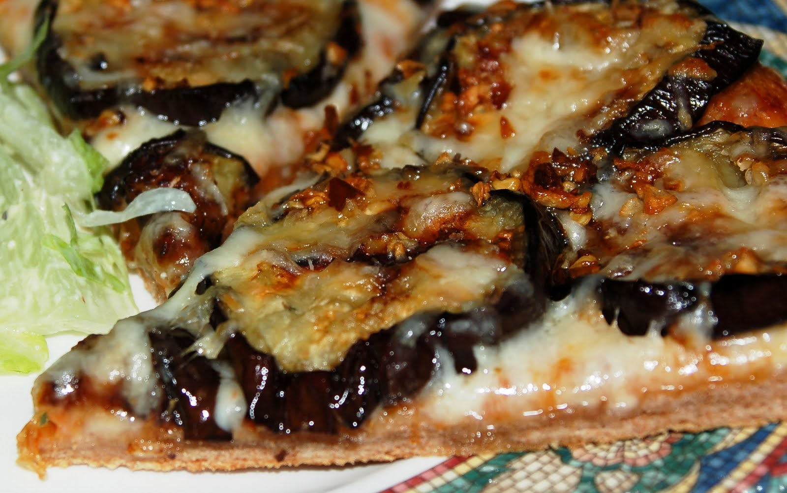Another Marvelous Meal: Meatless Mondays Return: Eggplant Pizza