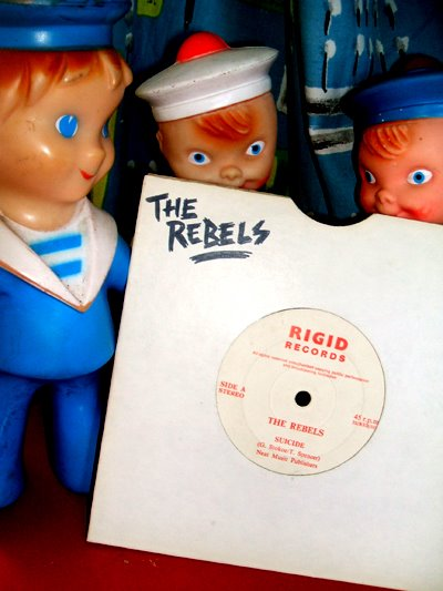 The Rebels  Suicide rigid records 1978 kbd punk