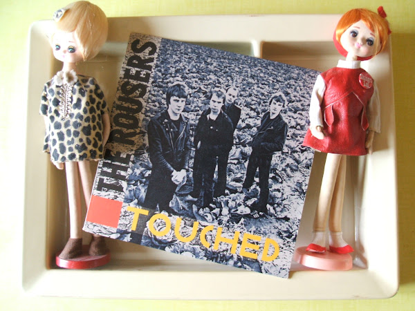 THE ROUSERS My girlfriend's mother 1980 touched ariola punk power pop holland