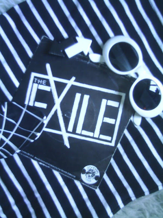 THE EXILE Disaster Movie 1978 charlie records scotland punk