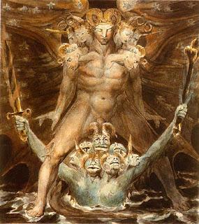 William Blake - ROMANTICISMO Dragon_rojo_blake_03