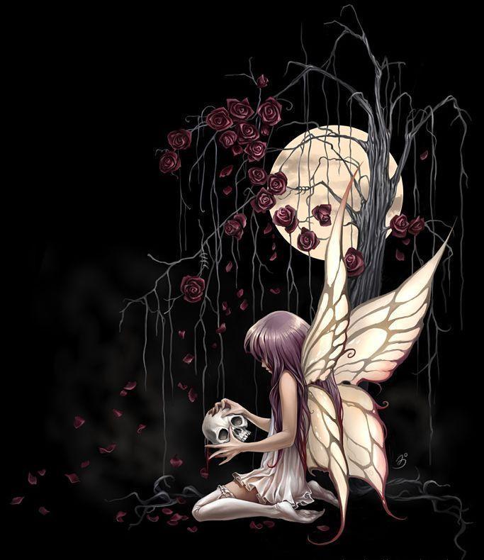 Anime Dark Fairies