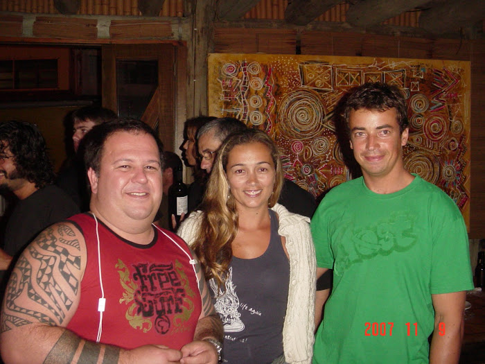 Exposição no Restaurante Big Bamboo
