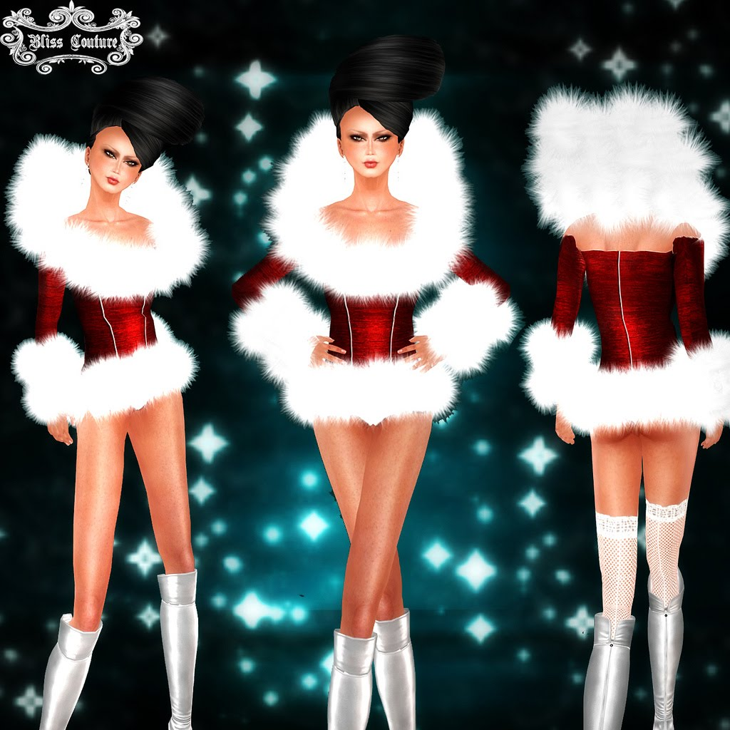 Hot Mrs Claus Bliss couture's mrs claus is a