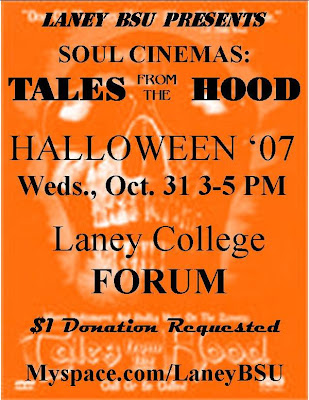 The Laney BSU showed the film Tales from the Hood Halloween 2007