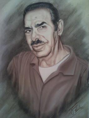 retrato a sepia
