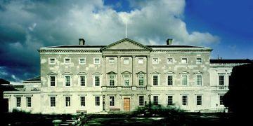 Leinster House in Dublin