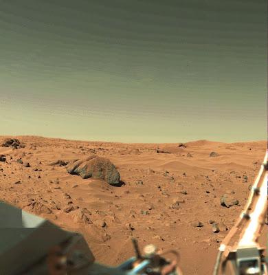 Viking Lander 1 - Landing Site